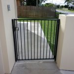 Aluminium side access gate
