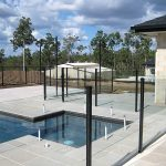 Aluminium Posts and Frameless Glass Pool Fence