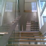 Staircase with Glass Balustrade