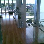 Inside Balcony made with Glass Fence Balustrade