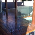 Timber Deck with Frameless glass Fence