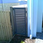 Small and Narrow Slat Panel Gate