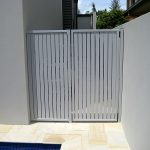 Slat Panels Side Gate