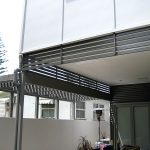 Aluminium Slat Privacy Screen